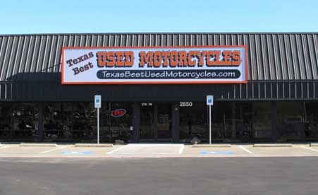 Texas Best Used Motorcycles Store