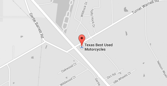 Texas Best Location Map - Used Motorcycles for Sale